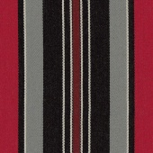 RAYURE HIPPIQUE - GRIS RUBIS/ROUGE H